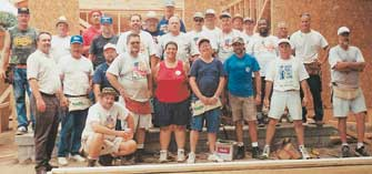 Locked Out Local 702 Members Pitch In For Habitat For Humanity
