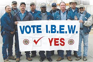 Ibew Action Saves Jobs In Mammoth Texas Utility Buyout