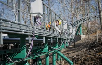 Virginia Members Help Build Busch Garden S Flashy Roller
