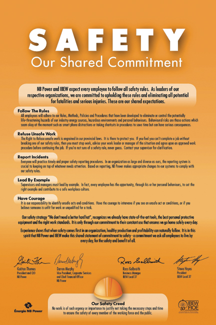 The electrical worker online ibew local 37 members have achieved safety milestones sce contract negotiations platinumwayz